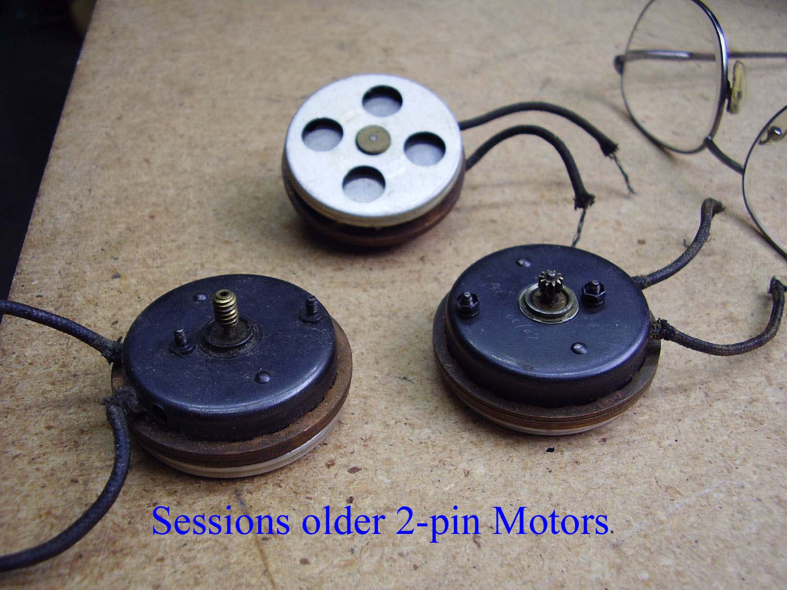 Mike S Telechron Clock Clinic S Sessions Older 2 Pin Clock