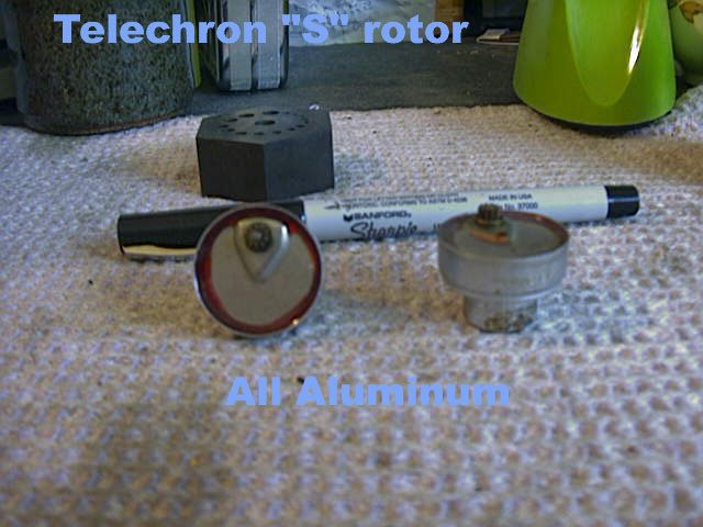 Cost To Turn Rotors >> Mike's Telechron Clock Clinic's Telechron S-4 Clock Rotors page.